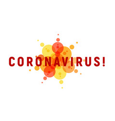 coronavirus isolated icon for infographics vector image
