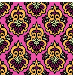 Damask seamless patter vector