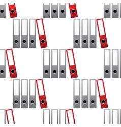 Four folders pattern vector