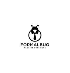 Lady bug for logo design editable vector