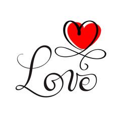 love original custom hand lettering handmade vector image