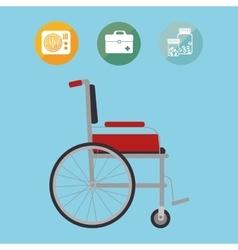 Medicine healthcare icon vector