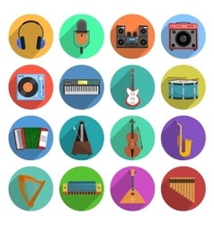 Melody And Music Icons Set vector