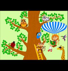 Tree knowledge vector
