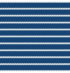 Striped nautical ropes bright seamless background vector image