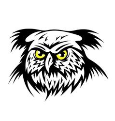 Wild owl vector image vector image