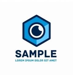 Cube logo template vector