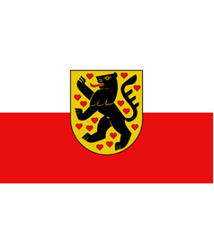Flag of weimar in thuringia in germany vector
