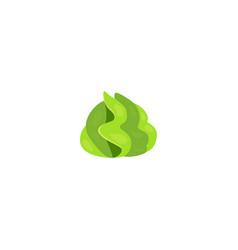 wasabi cartoon restaurant vector image
