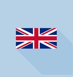 union jack or united kingdom flag vector image vector image
