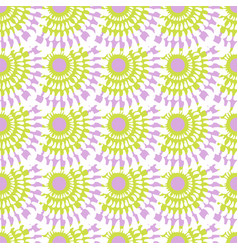 cute fashion seamless pattern pastel abstract vector image