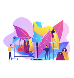 Fashion industry concept vector