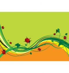 Ladybird field vector