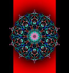 mandala entangle persian vector image