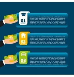 Money infographic vector
