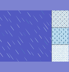 Rain drops seamless pattern background vector
