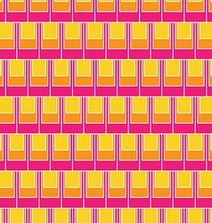 Seamless rectangular tile pattern vector image