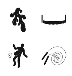 Sport investigation equipment and other web icon vector