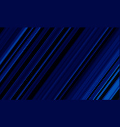 abstract blue line speed dynamic on black vector image