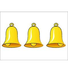 bells vector image