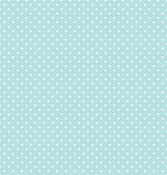 Blue Polka Dot Seamless Pattern Background vector