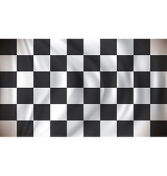 Checkered Race Flag vector image