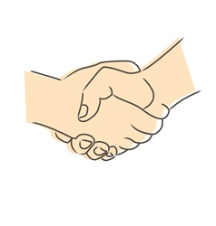 Draw Handshake Vector Images Over 680