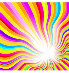 glow abstract background vector image