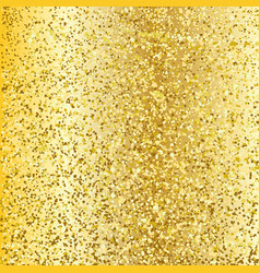 gold glitter background luxury greeting rich card vector image