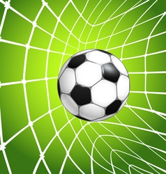Net with ball vector