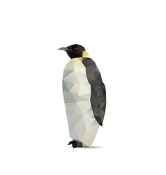 Penguin abstract vector image