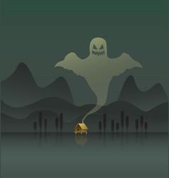 Swamp poster vector
