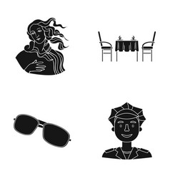 profession recreation museum and other web icon vector image