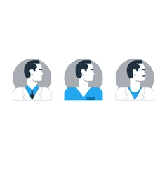 People doctor 1 vector image vector image
