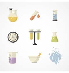 Science and research iconsPart I vector image vector image