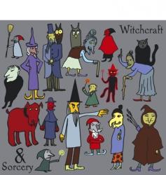 Witchcraft vector