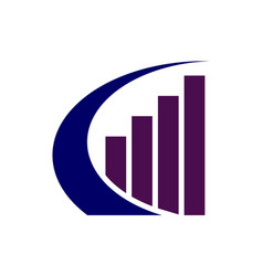 building abstract logo design vector image