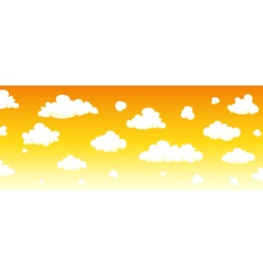 Cartoon Sky Background vector