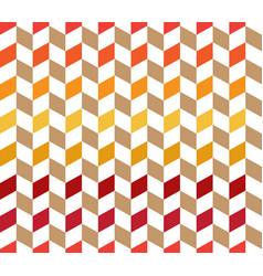 colorful herringbone check pattern vector image