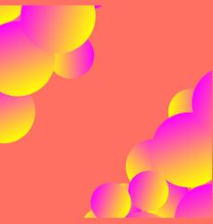 Colorful surrealistic abstract backdrop with vector