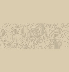 Contours topography geographic mountain vector