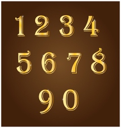 Gold number vector