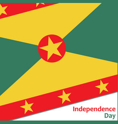 Grenada independence day vector