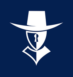 guardian security logo vector image