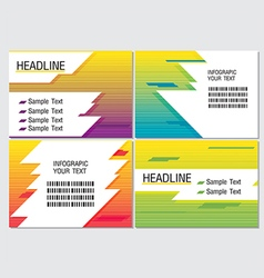 Line Speed Color Info Graphic Modern vector