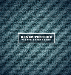 Blue denim texture background vector