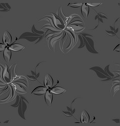 abstract background flowers seamless vector image