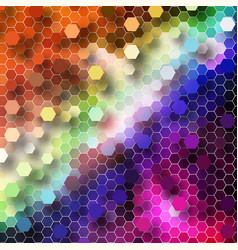 abstract background with geometric pattern eps10 vector image