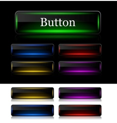 Buttons for web vector image