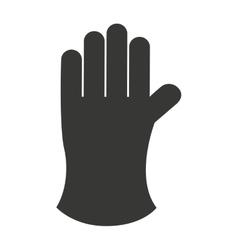 Farmer glove isolated icon design vector